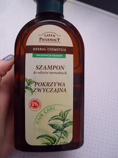 Porażka!- recenzja szamponu pokrzywowego GreenPharmacy