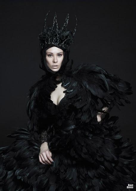 |Vestidos con plumas para fiesta