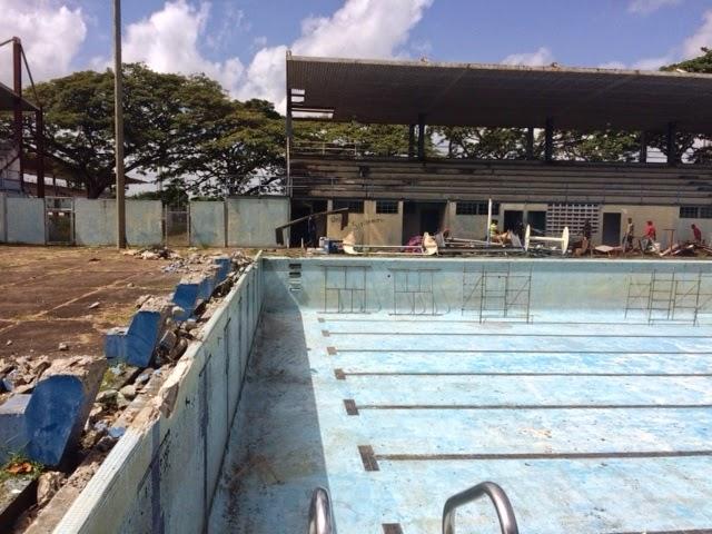 Consejo estadal piscina del polideportivo estar lista en for Piscina polideportivo