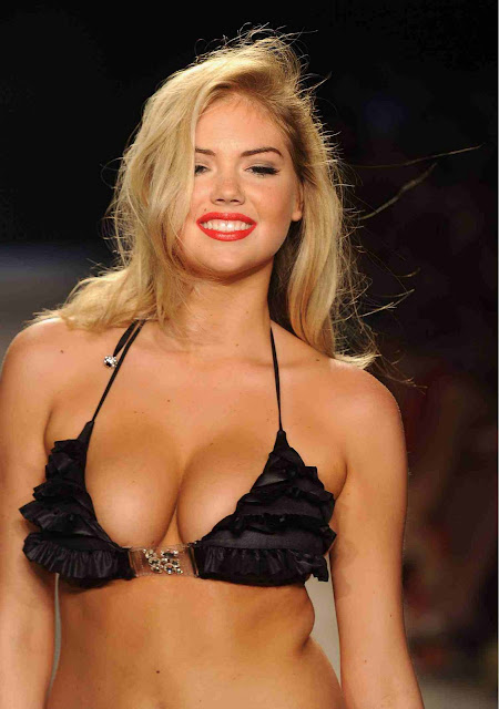 Kate Upton Beach Bunny In Fashion Show