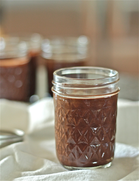 homemade nutella, chocolate hazelnut spread