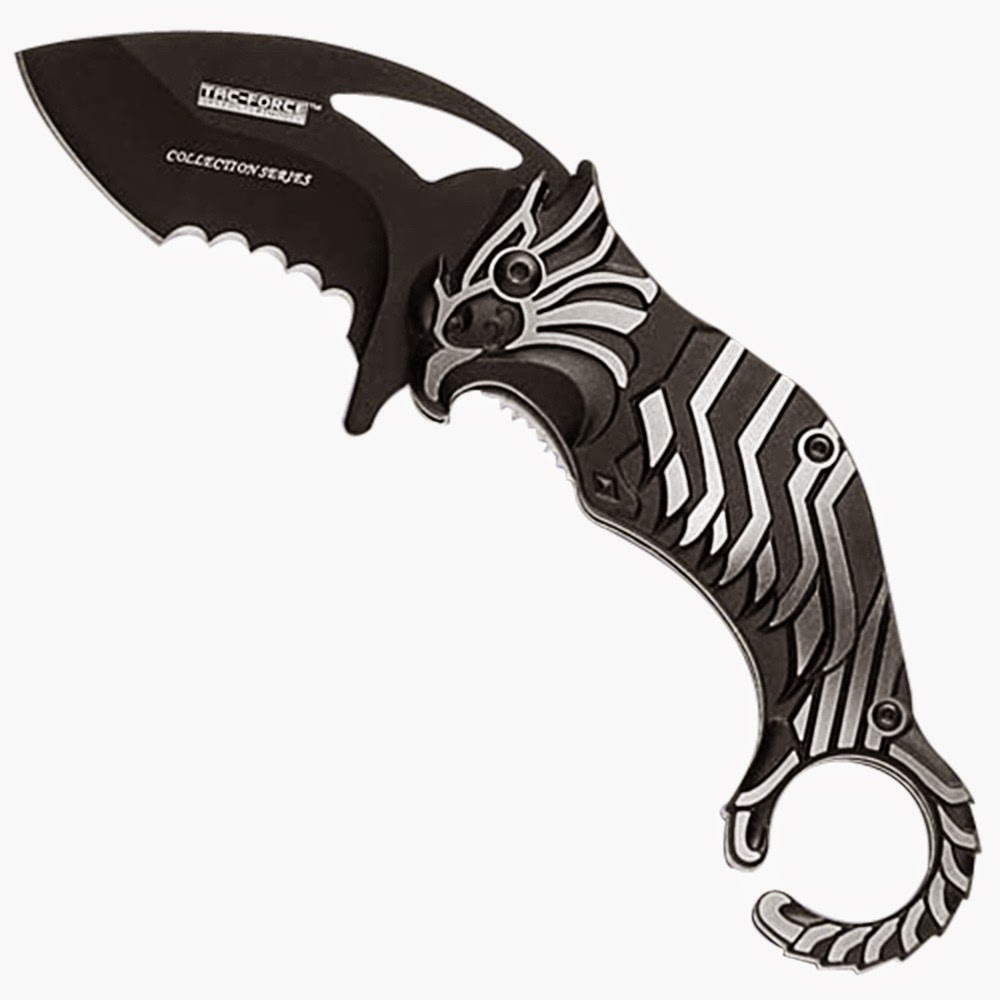 Tac Force Eagle Eye, karambit knife, Curved Blade knife
