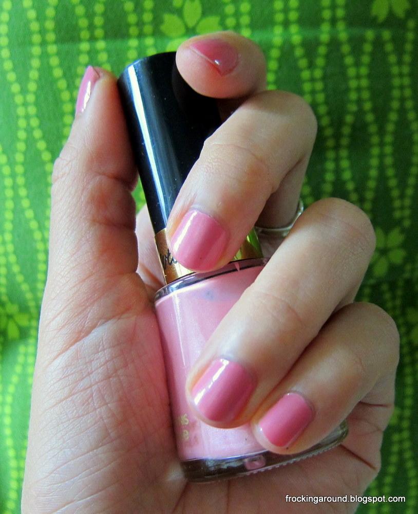 Revlon Sheer Nail Polish: So Loverly: Revlon Nail Polishes In Orange Pop, Sheer Rose