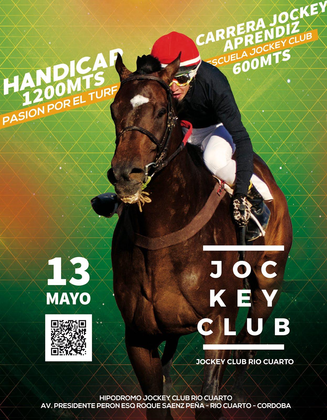 Programa De Carrera 13 De Mayo Hipodromo Jockey Club Rio Cuarto