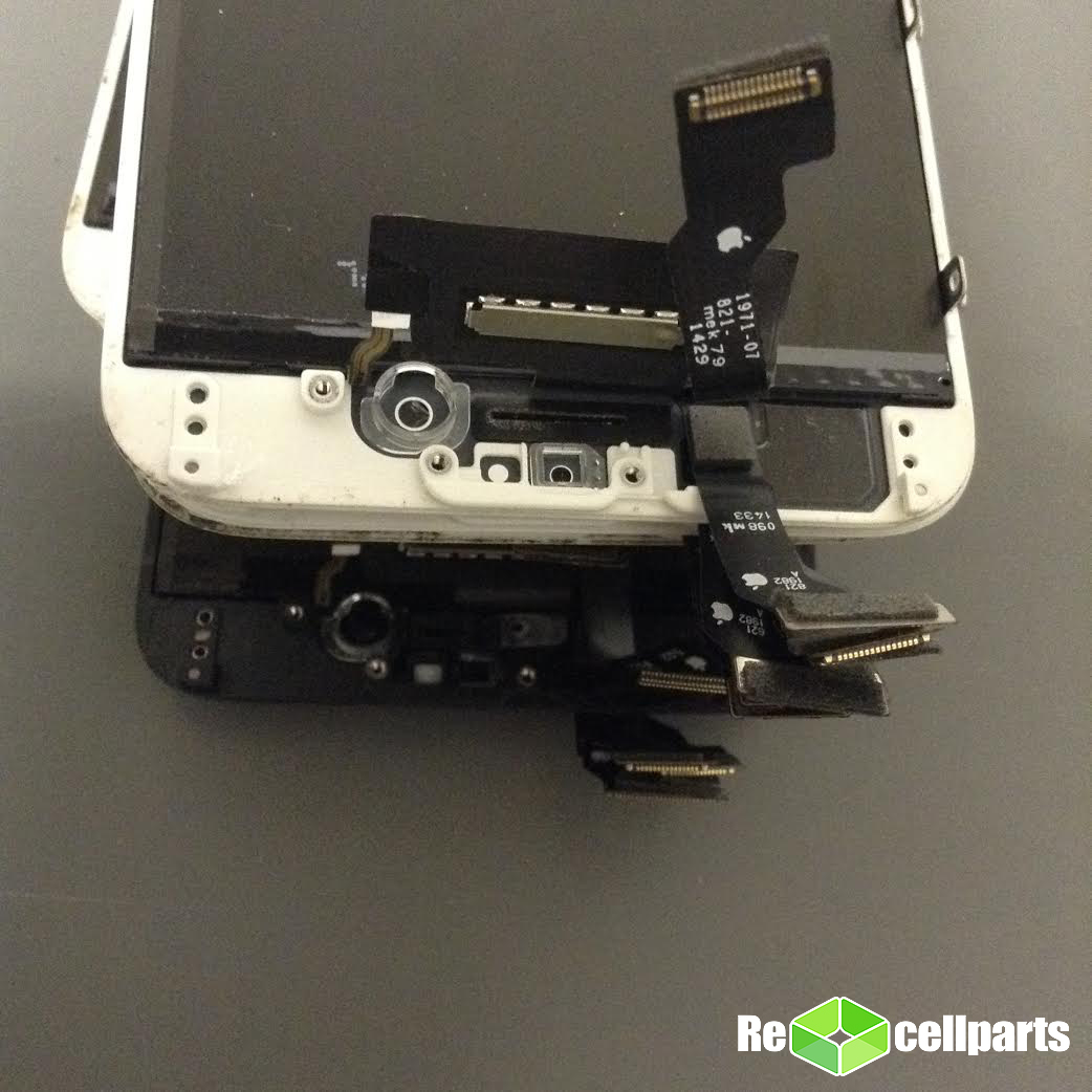 Elina Oem Iphone 6 Screen Vs Non Lcd Original Are There Apple Logos On Both The Flex And Digitizers Cables Moreover Is An Logo Printed Back Of