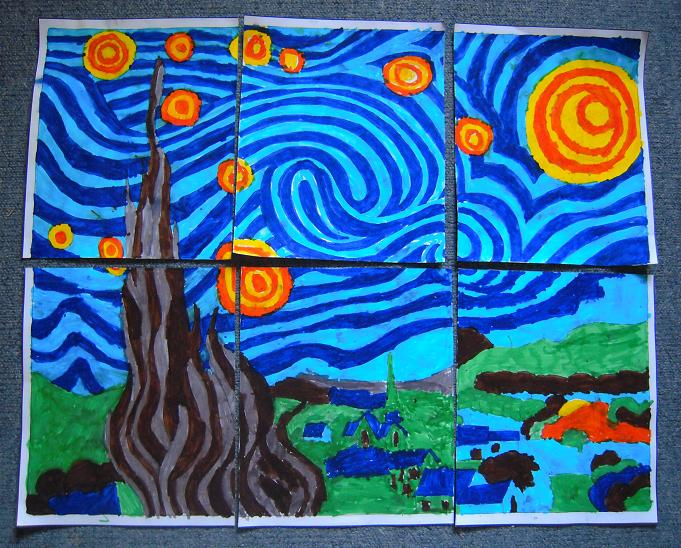 - starry night done