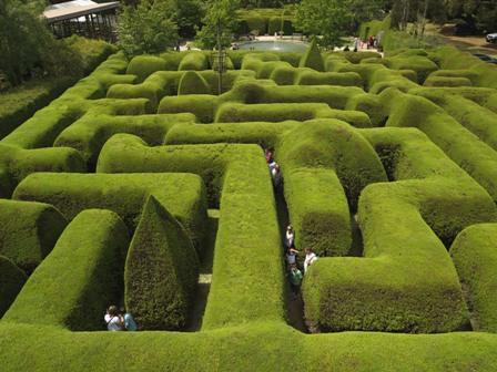 Los laberintos de los jardines jardiner a y paisajismo for Jardin laberinto