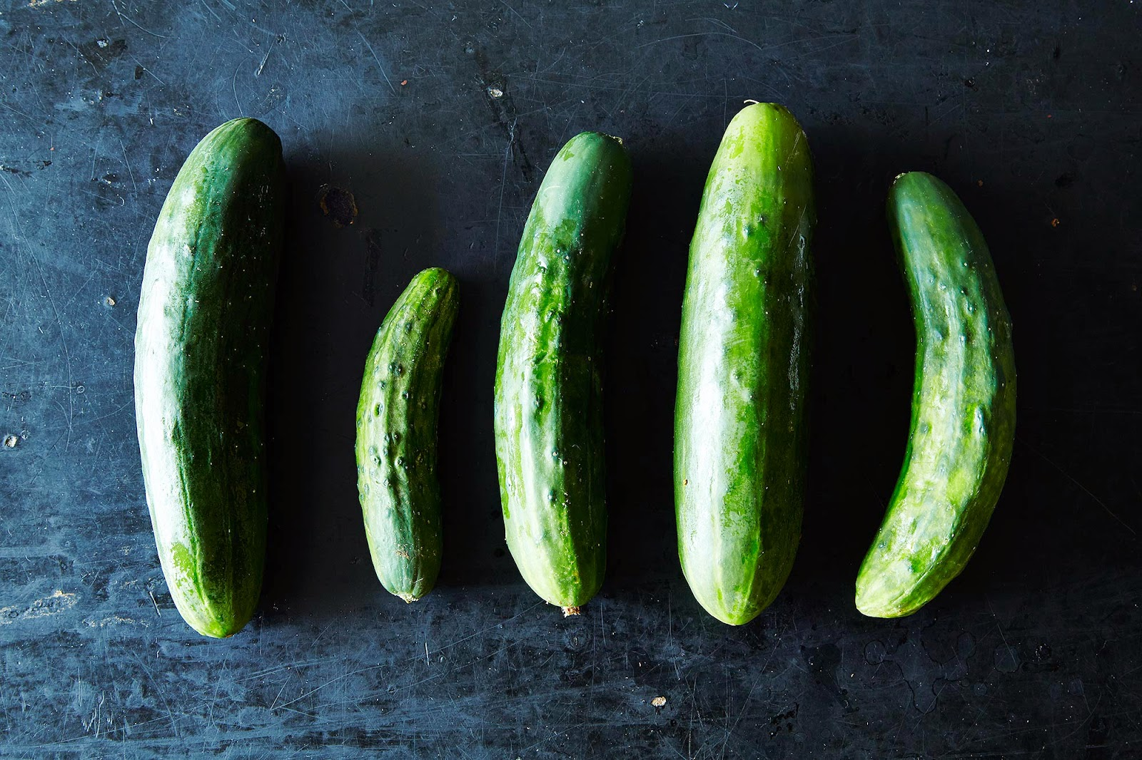 http://food52.com/blog/11106-cucumbers-and-11-of-the-best-ways-to-use-them