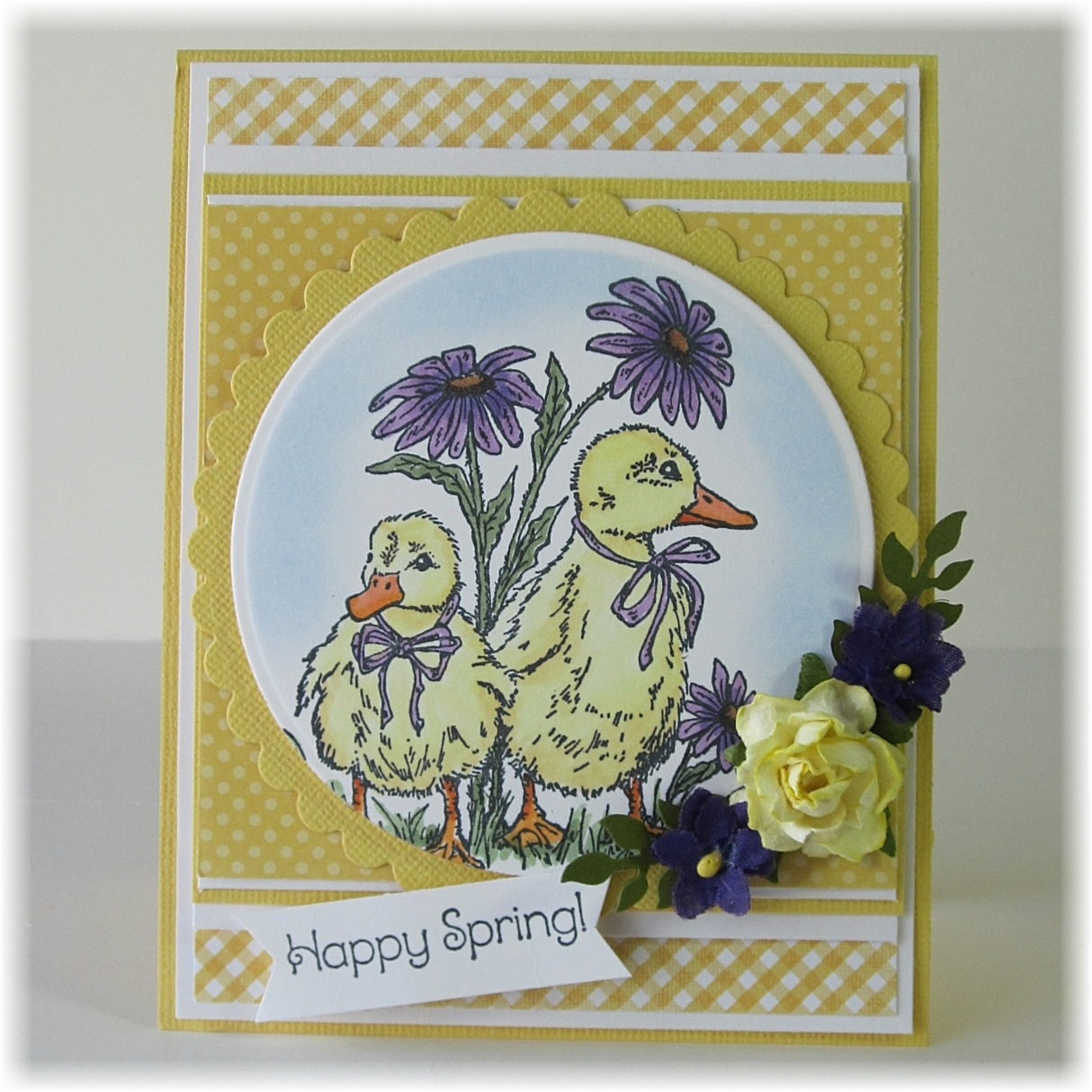 Stamps - North Coast Creations Happy Spring, ODBD Custom Fancy Foliage Die