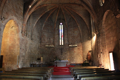 Gothic church of Pals in La Costa Brava