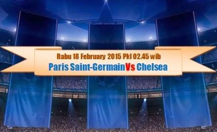 Jadwal PSG Vs Chelsea