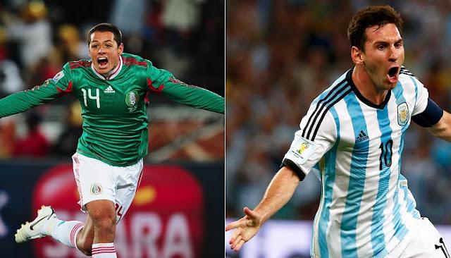 Mexico vs Argentina en vivo