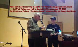 2014 TOM PAINE COURAGEOUS SPIRIT AWARDS