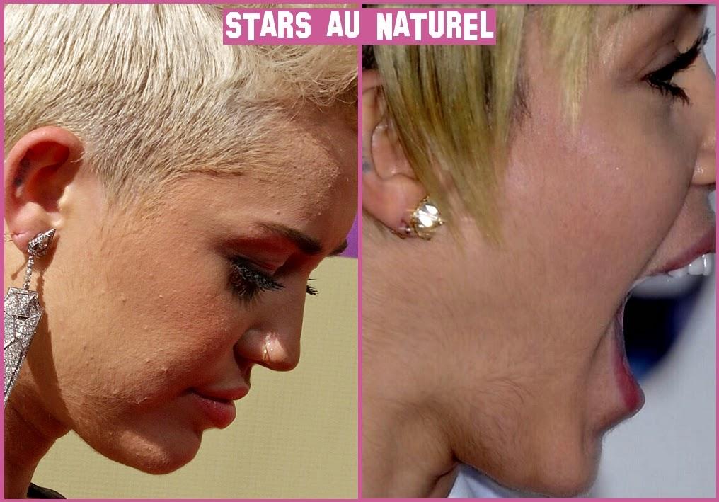 Miley Cyrus poils