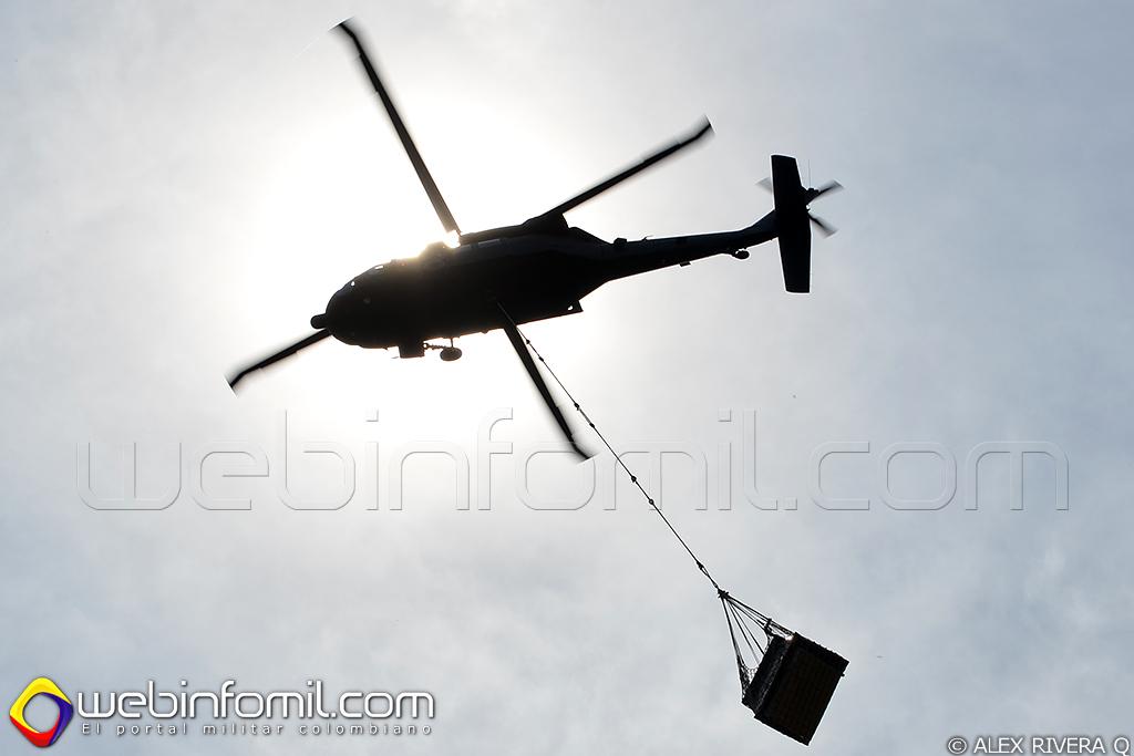 Black hawk fuerzas militares colombia