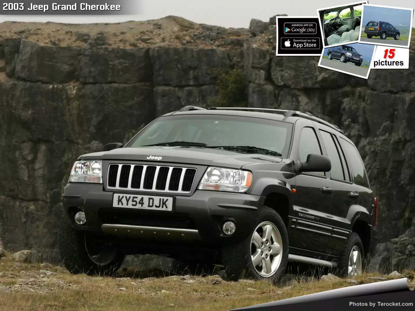 Hình ảnh xe ô tô Jeep Grand Cherokee UK Version 2003 & nội ngoại thất
