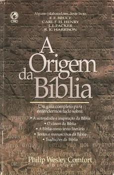 A ORIGEM DA BIBLIA
