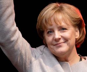 """""""KEIN EUROPA OHNE DIE KANZLERIN!"""",MEINES KLEINES GESCHENK IN WAHLKAMPF."""