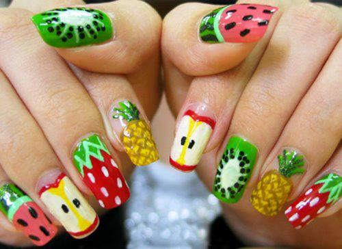Fruits, Nail Art, Cuteness, Popular Pinterest, Summer