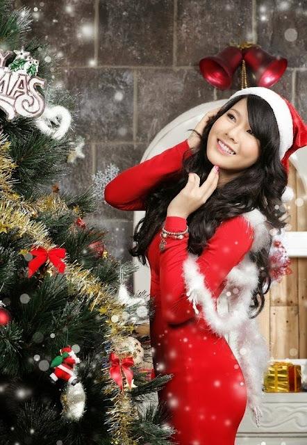 "Anh nong Hani Nguyen, Hot girl Hani Nguyễn khoe bộ ảnh Noel ""nóng bỏng mắt"""