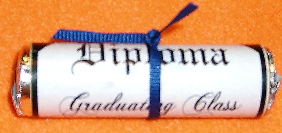 Lifesaver Candy Roll Diplomas