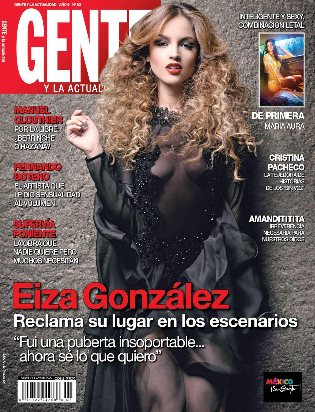 Eiza Gonzalez sale en portada de Gente