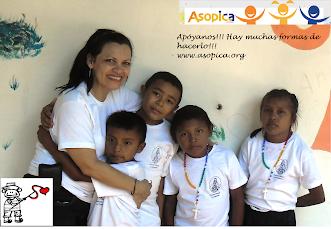 Apoya los niños indígenas del Capanaparo