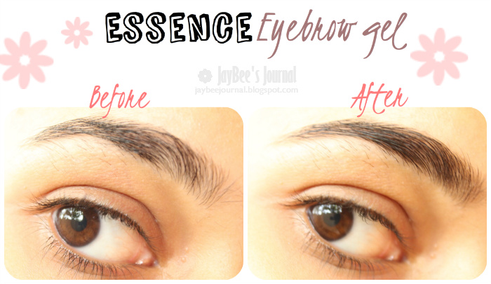 The new Essence Eyebrow Gel review swatches pakistan