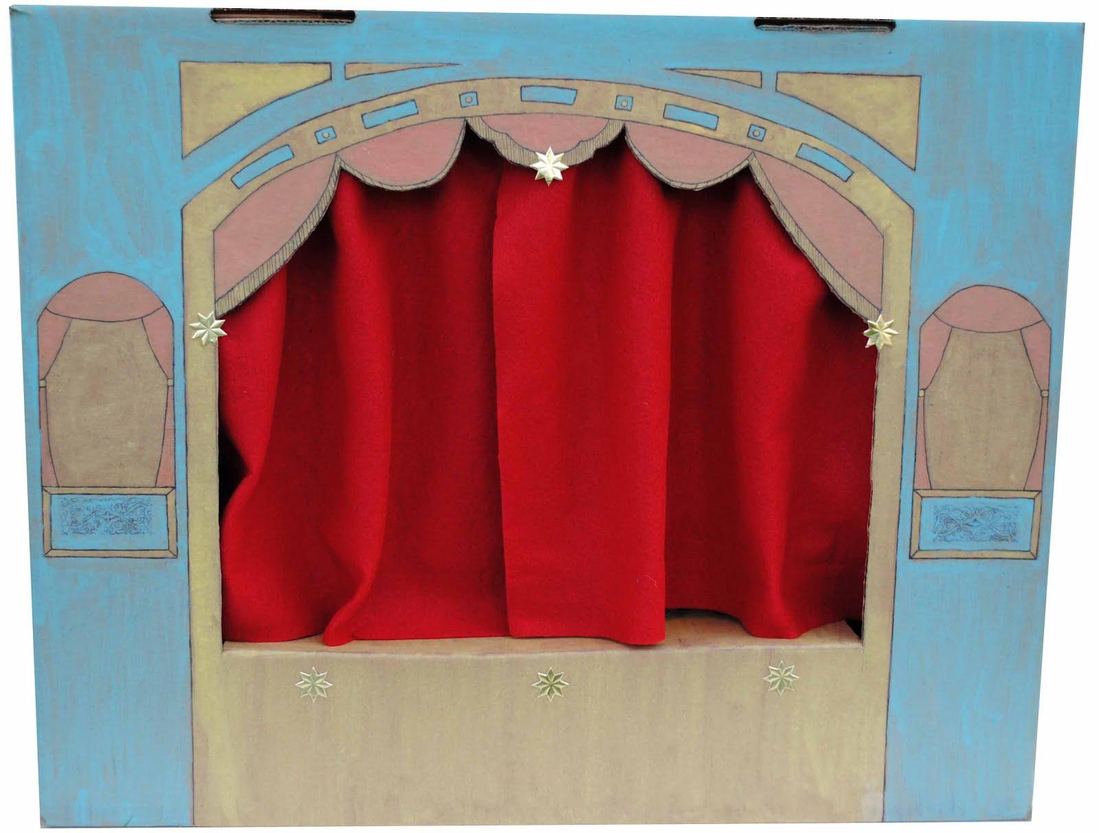 Zakka Life Craft Cardboard Puppet Theater