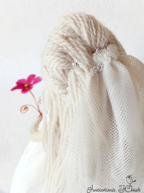 Кукла невеста - фата