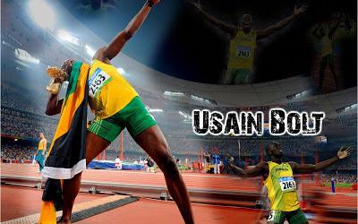 Usain Bolt Jamaican Lightning 2013 Best Sprinter Hd Desktop Wallpaper
