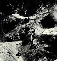 Explotació de bauxita a l'obaga del Soler. Fotografia: Closas