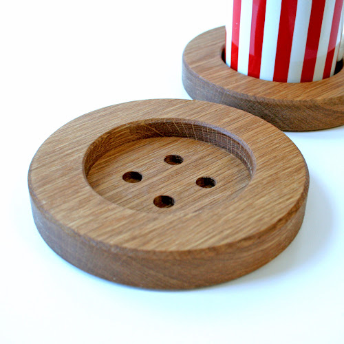 http://www.etsy.com/listing/182424464/the-big-button-coaster-solid-oak-drinks