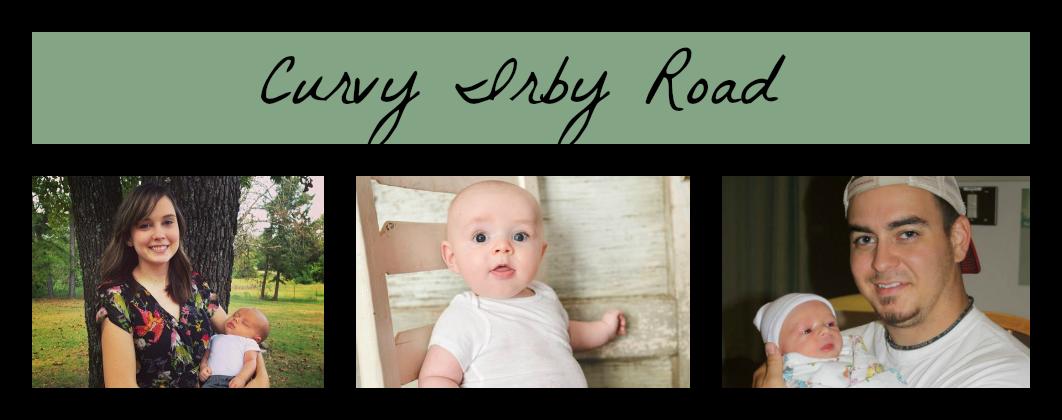 Curvy Irby road.