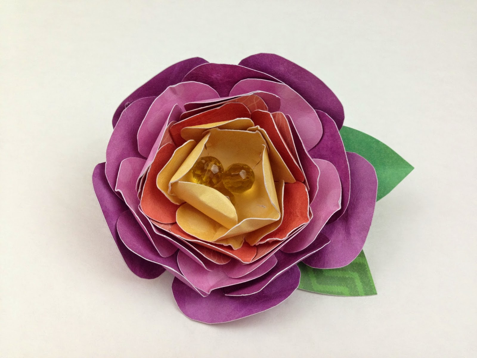 Precocious Paper Paper Flower Brooch Video Tutorial Dcwv
