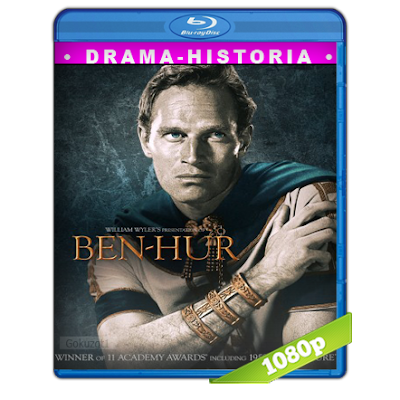 Ben-Hur (1959) BRRip Full 1080p Audio Trial Latino-Castellano-Ingles 5.1