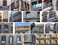 Contaminación visual en BIC Centro Histórico de Málaga