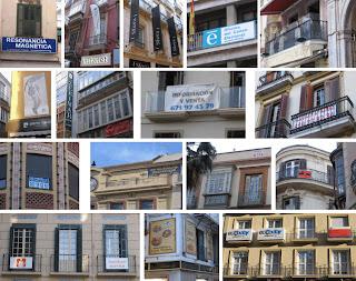 Contaminación Visual en el BIC Conjunto Histórico-Artístico del Centro de Málaga