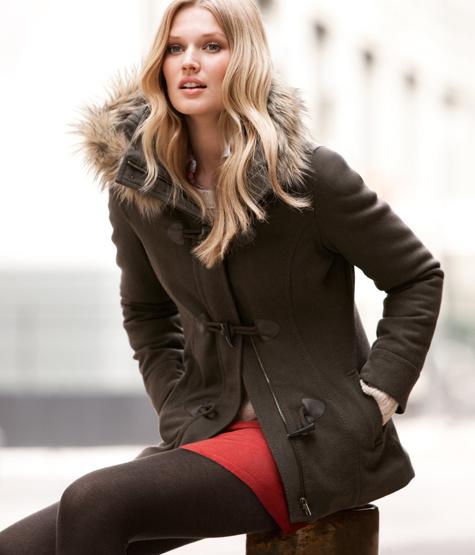 abrigos y chaquetas de moda 2011 2012 mujer