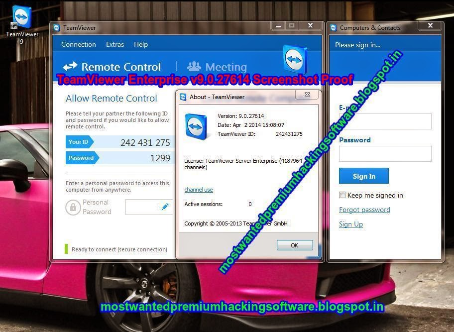 Teamviewer 8.0.17396 enterprise final incl crack fr