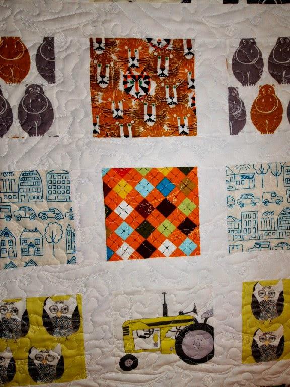 Katie Spitaletto's Boyish Theme Quilt