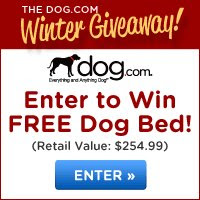 Crypton Loopy Bolster Dog Bed Giveaway