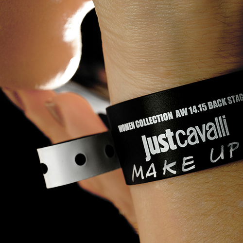 MAC COSMETICS Backstage at Just Cavalli AW14 Milan Fashion Week
