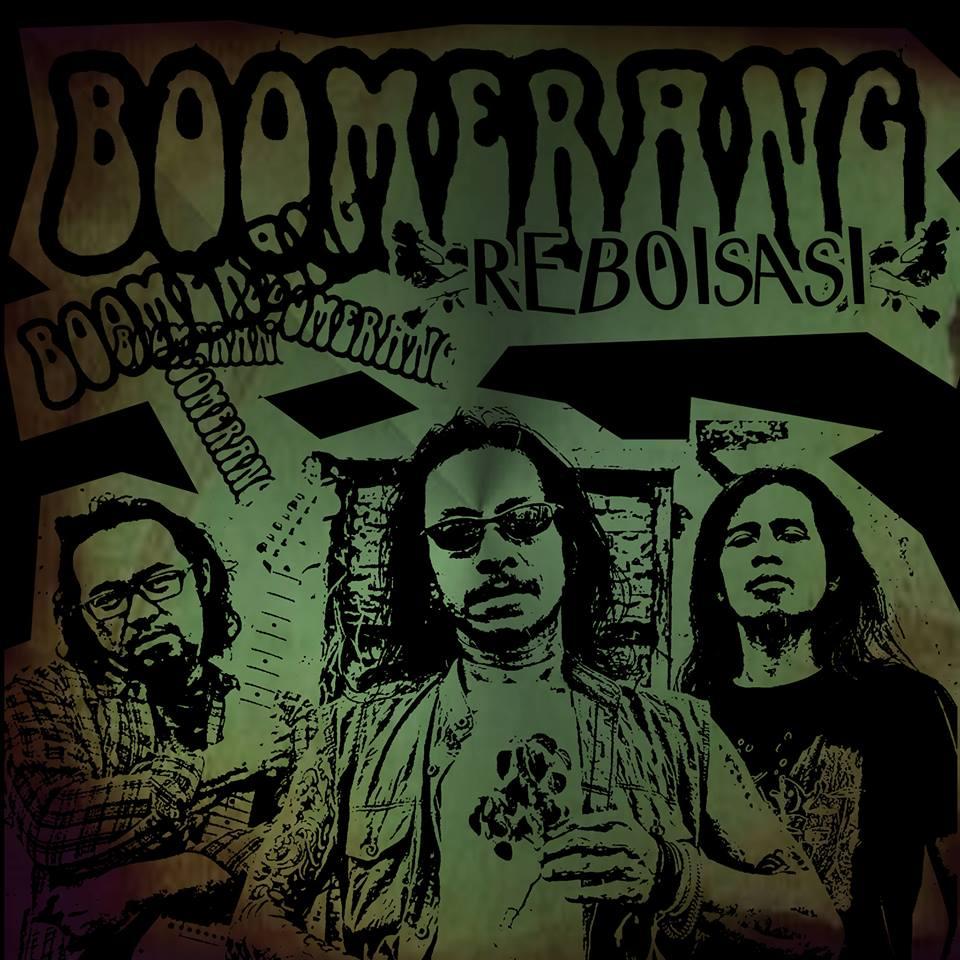 Chord Gitar Boomerang Di Sudut Kota: Koleksi Gambar Sampul Keren Band Boomerang Reboisasi