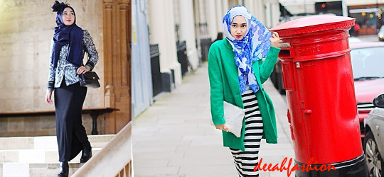 Baju Muslim Tabrak Warna ColorBold