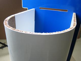 曲面が作れるのでデザインの幅も広がる