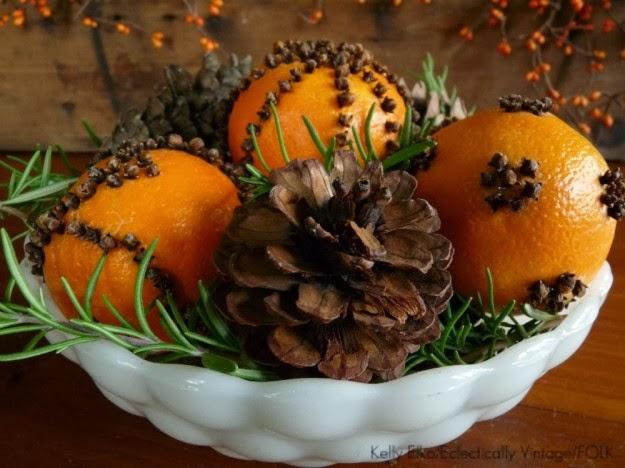 portakal karanfil dekoratif