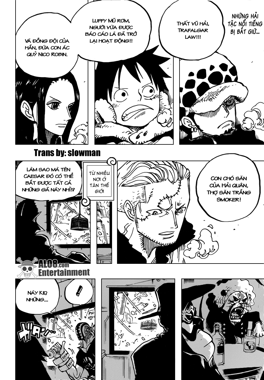 One Piece Chapter 677: Phản công ở Punk Hazard 002