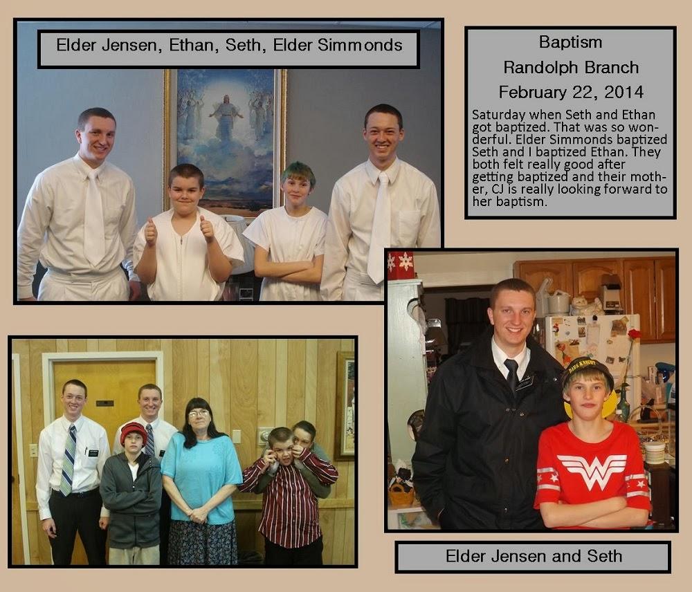 February 22, 2014 Baptism