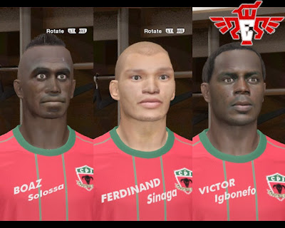 Indonesia National Team Facepack vol.1 by mislam